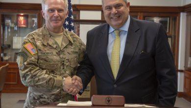 Photo of Επίσκεψη του ΥΕΘΑ Π. Καμμένου στην USSOCOM