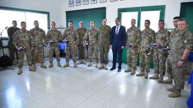 Photo of Ο Κύπριος ΥΠΑΜ τίμησε τους καταδρομείς που συμμετείχαν στην CAMBRIAN PATROL 2018