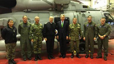 Photo of Παρουσίαση του ελικοπτέρου MH-60R στο Πολεμικό Ναυτικό