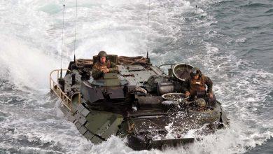 Photo of Παρουσίαση αμφιβίων τεθωρακισμένων AAV7A1 των ΗΠΑ στο Βόλο