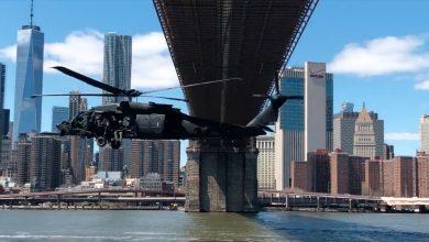 Photo of Downtown LA – Ελικόπτερα MH-6 και MH-60 συμμετέχουν σε άσκηση εντός κατοικημένων περιοχών με τη Delta.