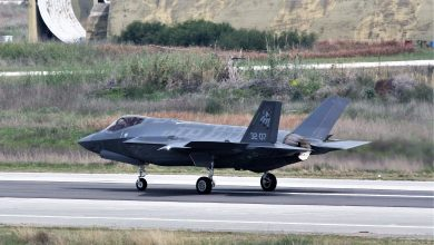 Photo of Φορώντας ανακλαστήρες ραντάρ ήλθαν τα ιταλικά F-35A για τον ΗΝΙΟΧΟ 2019