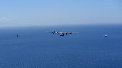 Photo of Η επιχείρηση συνοδείας αμερικανικών C-130J από μαχητικά της ΠΑ στο Αν. Αιγαίο