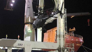Photo of Φορτώθηκαν τα Kiowa Warrior σε πλοίο για το ταξίδι στην Ελλάδα