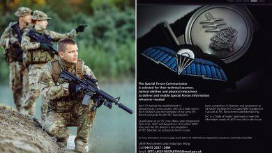 Photo of Σε αναζήτηση Διαβιβαστών οι Ειδικές Δυνάμεις του Βρετανικού Στρατού