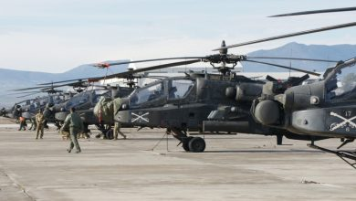 Photo of Σε εξέλιξη η ανάπτυξη Apache και Black Hawk της 3ης CAB στο Στεφανοβίκειο