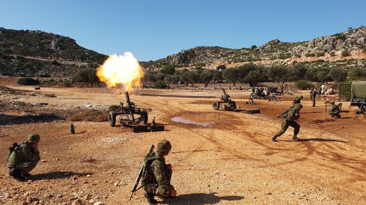 Photo of Βολές βαρέων όπλων της ΔΑΝ Μεγίστης και η έκπληξη των γαλλικών όλμων 120 mm