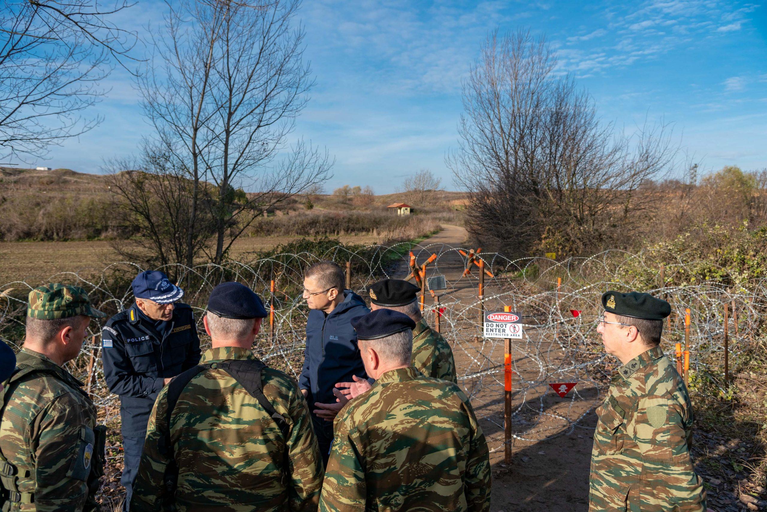 "Photo of Ενιαίος Φορέας Επιτήρησης Συνόρων και ""αποτρεπτικά εμπόδια"" στον Έβρο"