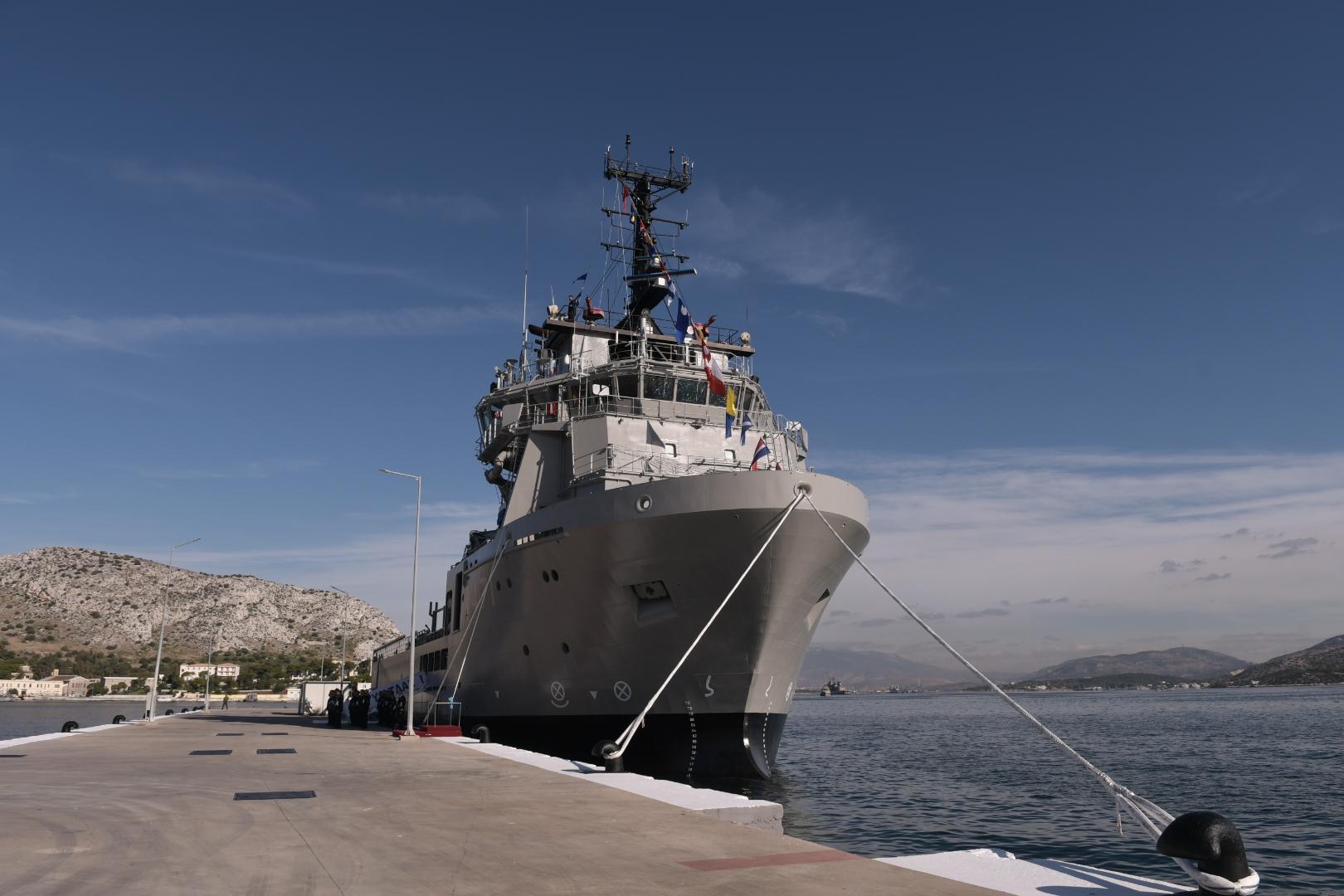 "Photo of Η στρατηγική σημασία του ΠΓΥ ""ΑΤΛΑΣ Ι"" για το Πολεμικό Ναυτικό"