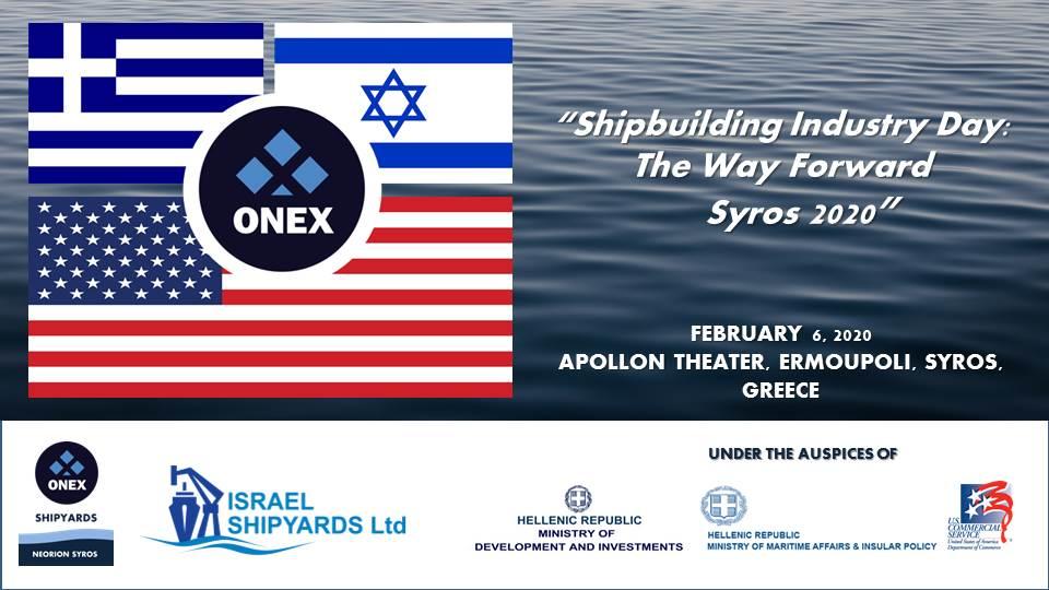 Photo of Προς στρατηγική συνεργασία ONEX Shipyards – Israeli Shipyards