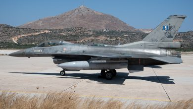 """Photo of F-16V: Το """"005"""" φεύγει, το """"505"""" έφθασε στην ΕΑΒ"""