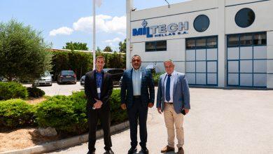Photo of Επίσκεψη του ΑΚΑΜ των ΗΑΕ στην Miltech Hellas